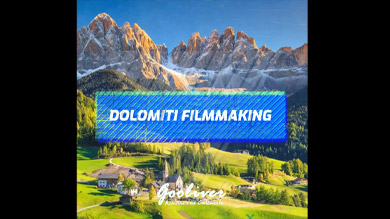 dolomiti filmmaking